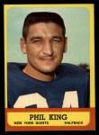 1963 Topps #52  Phil King  Front Thumbnail