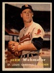 1957 Topps #81  Herm Wehmeier  Front Thumbnail