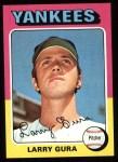 1975 Topps #557  Larry Gura  Front Thumbnail