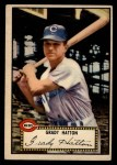 1952 Topps #6 RED Grady Hatton  Front Thumbnail