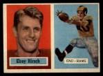 1957 Topps #46  Elroy Hirsch  Front Thumbnail