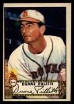1952 Topps #82  Duane Pillette  Front Thumbnail