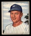 1950 Bowman #215 CPR Eddie Lopat  Front Thumbnail