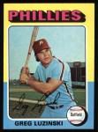 1975 Topps #630  Greg Luzinski  Front Thumbnail