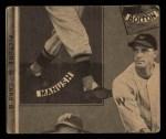 1935 Goudey  Minter Hayes / Ted Lyons / Mule Haas / Zeke Bonura  Back Thumbnail