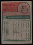 1975 Topps #655  Rico Carty  Back Thumbnail