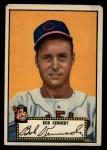 1952 Topps #77 BLK Bob Kennedy  Front Thumbnail
