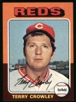 1975 Topps #447  Terry Crowley  Front Thumbnail