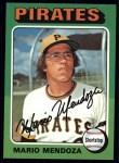 1975 Topps #457  Mario Mendoza  Front Thumbnail