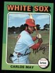 1975 Topps #480  Carlos May  Front Thumbnail