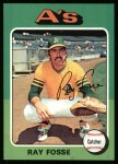 1975 Topps #486  Ray Fosse  Front Thumbnail