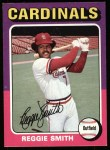 1975 Topps #490  Reggie Smith  Front Thumbnail