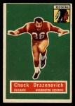 1956 Topps #37  Chuck Drazenovich  Front Thumbnail