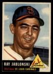 1953 Topps #189  Ray Jablonski  Front Thumbnail