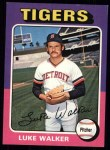 1975 Topps #474  Luke Walker  Front Thumbnail