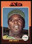 1975 Topps #607  Jim Holt  Front Thumbnail