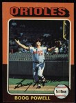 1975 Topps #625  Boog Powell  Front Thumbnail