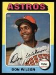 1975 Topps #455  Don Wilson  Front Thumbnail