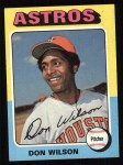 1975 Topps #455  Don Wilson  Front Thumbnail