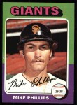 1975 Topps #642  Mike Phillips  Front Thumbnail