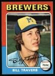 1975 Topps #488  Bill Travers  Front Thumbnail