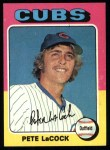 1975 Topps #494  Pete LaCock  Front Thumbnail