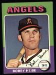 1975 Topps #441  Bob Heise  Front Thumbnail