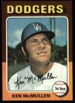 1975 Topps #473  Ken McMullen  Front Thumbnail