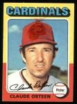 1975 Topps #453  Claude Osteen  Front Thumbnail