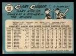 1965 Topps #452  Gary Geiger  Back Thumbnail