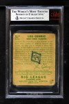 1934 Goudey #61  Lou Gehrig  Back Thumbnail
