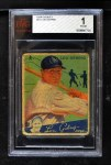 1934 Goudey #61  Lou Gehrig  Front Thumbnail
