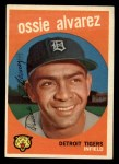 1959 Topps #504  Ossie Alvarez  Front Thumbnail