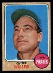 1968 Topps #461  Chuck Hiller  Front Thumbnail