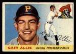 1955 Topps #59  Gair Allie  Front Thumbnail