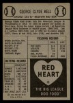 1954 Red Heart  George Kell    Back Thumbnail
