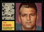1962 Topps #7  Tom Gilburg  Front Thumbnail