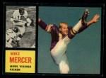 1962 Topps #97  Mike Mercer  Front Thumbnail
