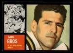 1962 Topps #74  Earl Gros  Front Thumbnail