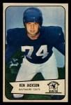 1954 Bowman #82  Ken Jackson  Front Thumbnail