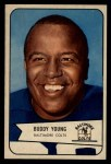 1954 Bowman #38  Buddy Young  Front Thumbnail