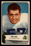 1954 Bowman #68  Don Paul  Front Thumbnail