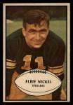 1953 Bowman #18  Elbert Nickel  Front Thumbnail