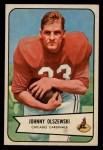 1954 Bowman #117  John Olszewski  Front Thumbnail