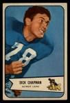1954 Bowman #65  Dick Chapman  Front Thumbnail