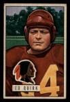 1951 Bowman #107  Ed Quick  Front Thumbnail