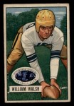 1951 Bowman #23  William Walsh  Front Thumbnail