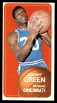 1970 Topps #81  Johnny Green   Front Thumbnail