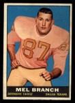 1961 Topps #134  Mel Branch  Front Thumbnail