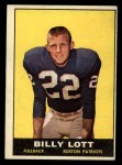 1961 Topps #176  Billy Lott  Front Thumbnail